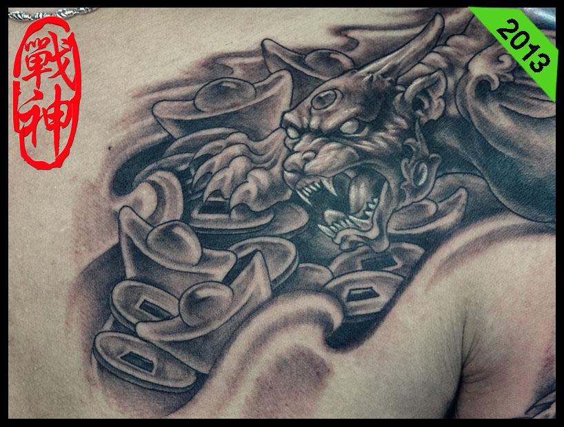 貔貅纹身上好不好?纹在哪最好?有什么讲究?请高人指点